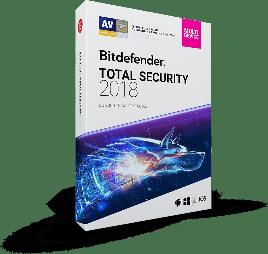 Bitdefender Total Security 2018 Crack + Activation Key Free Download