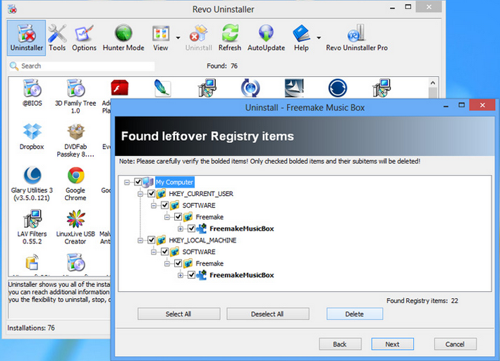 Revo Uninstaller Crack Key Features
