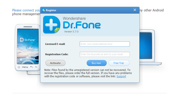 WonderShare Dr.Fone 11.0.6 Crack For PC + Android [Latest 2021]