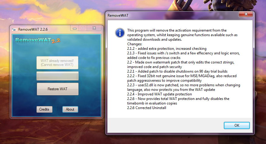 Removewat 2.2.9 Activator for Windows + Office Crack + Activation Key Free Download