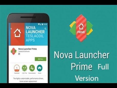 Nova Launcher 5.5.3 Prime Apk Crack + License Key Free Download
