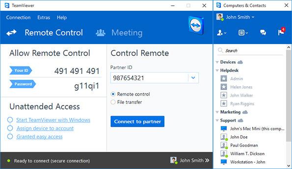 TeamViewer 15.5.6 Crack + License Key Free Download