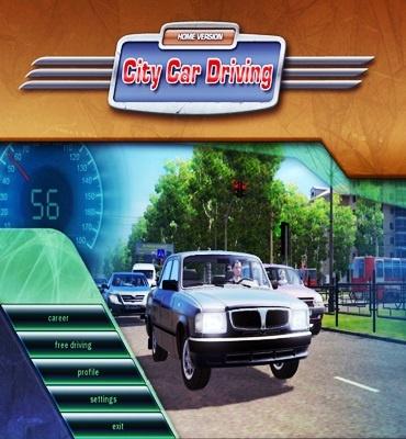 City Car Driving v1.5 Crack + Serial Key Free Download